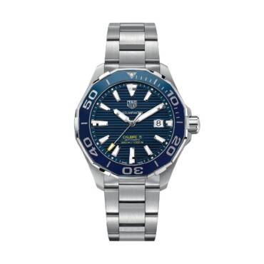 TAG HEUER Часы AQUARACER  CALIBRE 5  steel bracelet