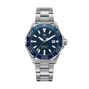 TAG HEUER Часы AQUARACER  CALIBRE 5  steel bracelet