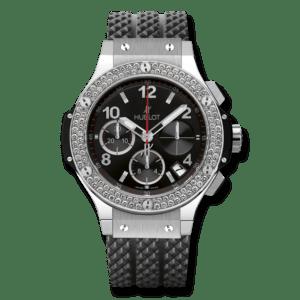HUBLOT Часы Big Bang STEEL DIAMONDS 41 мм