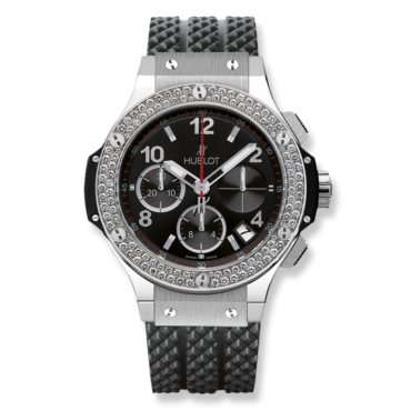 HUBLOT Часы Big Bang STEEL DIAMONDS 41 мм