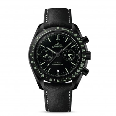 OMEGA Часы Speedmaster Moonwatch Co-Axial Chronograph Dark Side Pitch Black