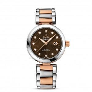 OMEGA Часы De Ville Ladymatic pink gold/steel