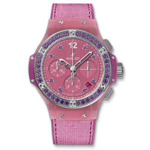 HUBLOT Часы Big Bang Purple Linen 41 мм
