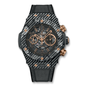HUBLOT Часы Big Bang UNICO ITALIA INDEPENDENT BLACK 45 мм