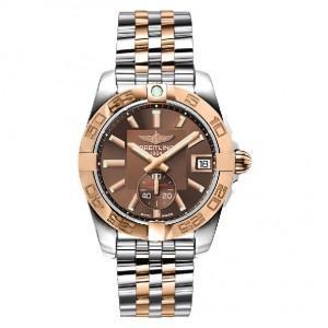 BREITLING Часы Galactic 36 pink gold/steel