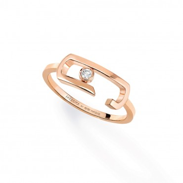 MESSIKA кольцо Move Addiction 0,04 ct rose gold