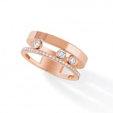 MESSIKA кольцо Move Romane Pink Gold