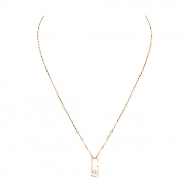 MESSIKA колье Move Addiction 0,17 ct rose gold