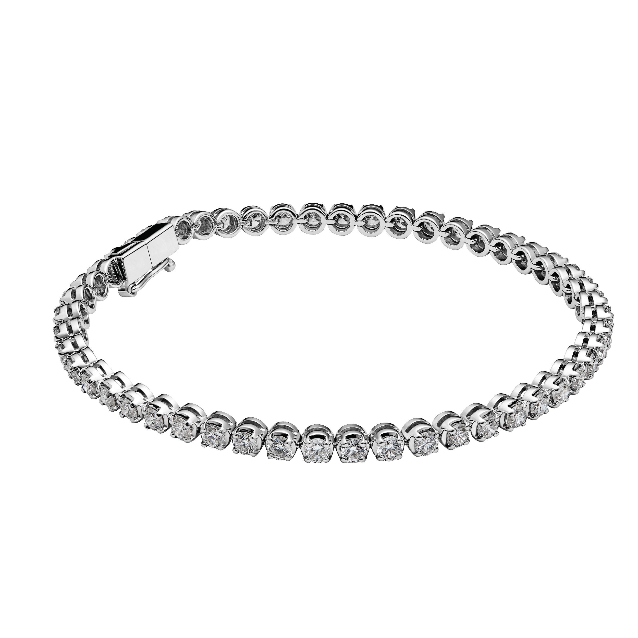CHATE Браслет-теннис  White gold 12,00 г