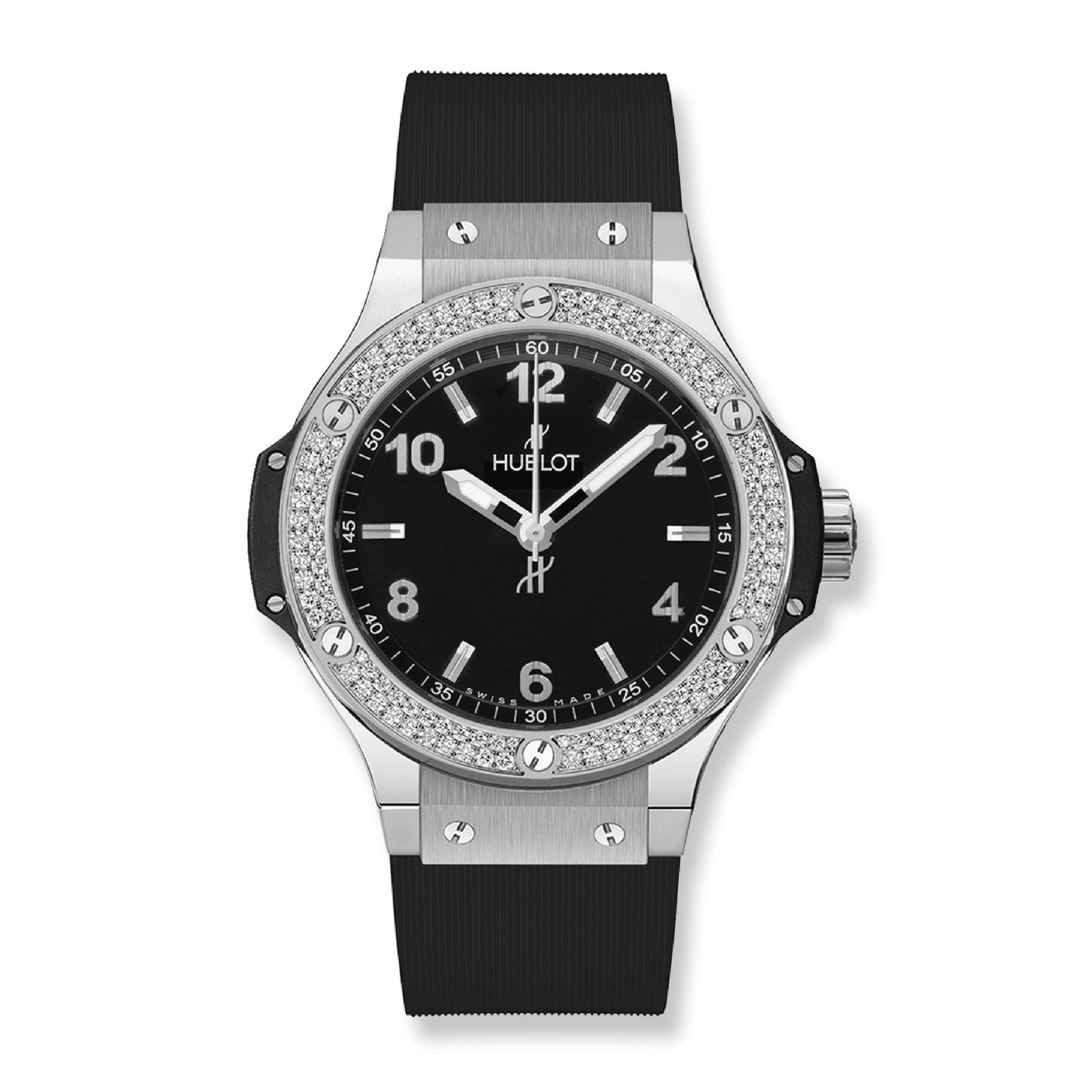Hublot Big Bang Steel Diamonds 38 mm