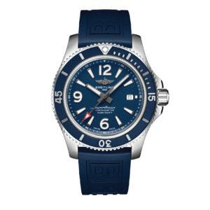 BREITLING Часы SUPEROCEAN AUTOMATIC 44 Blue