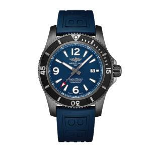 BREITLING Часы SUPEROCEAN AUTOMATIC 46 BLACK STEEL