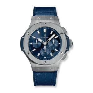 HUBLOT Часы Big Bang STEEL BLUE 44 мм
