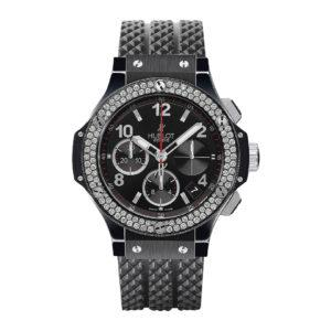 HUBLOT Часы Big Bang Black Magic Diamonds 41 мм