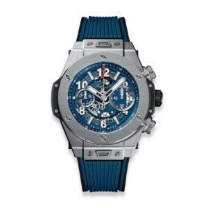 HUBLOT ЧАСЫ BIG BANG UNICO TITANIUM BLUE
