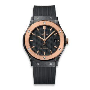 HUBLOT ЧАСЫ CLASSIC FUSION CERAMIC KING GOLD 45 mm