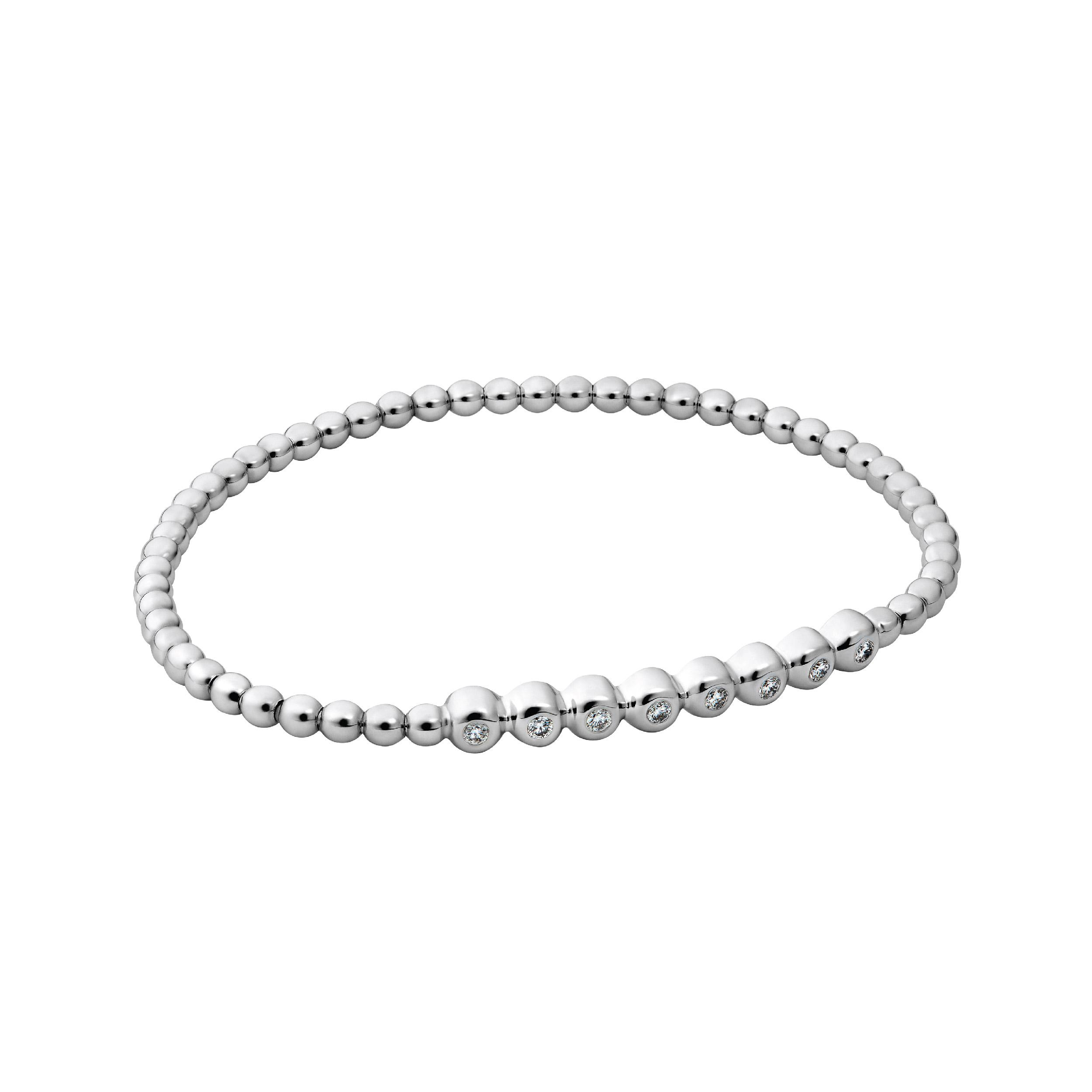 CHATE БРАСЛЕТ-РЕЗИНКА WHITE GOLD 0,26 ct