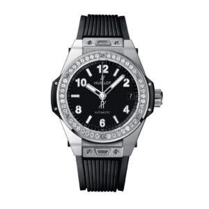 HUBLOT ЧАСЫ BIG BANG ONE CLICK STEEL DIAMONDS 39 mm 1ct