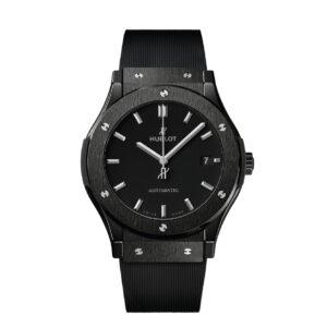 HUBLOT Часы CLASSIC FUSION BLACK MAGIC 45 mm
