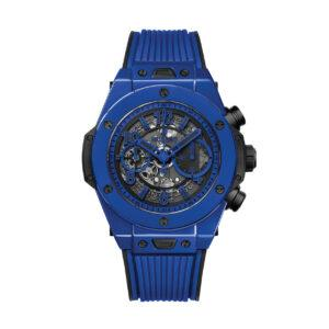 HUBLOT ЧАСЫ BIG BANG UNICO BLUE MAGIC 45 mm