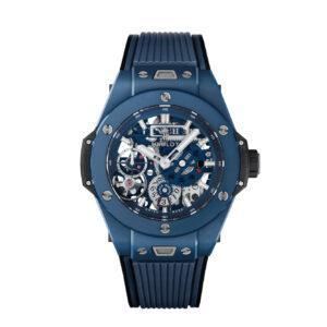 HUBLOT ЧАСЫ Big Bang MECA-10 CERAMIC BLUE 45 мм