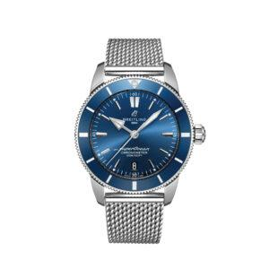 BREITLING Часы Superocean Heritage II 44 mm Blue