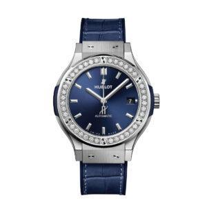 HUBLOT Часы Classic Fusion 38 мм blue